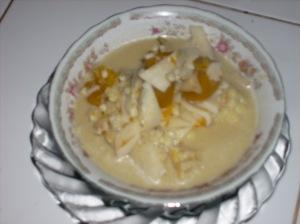 sayur humbut kelapa